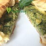 Torta salata zucchine e robiola - Ricetta Vegetariana