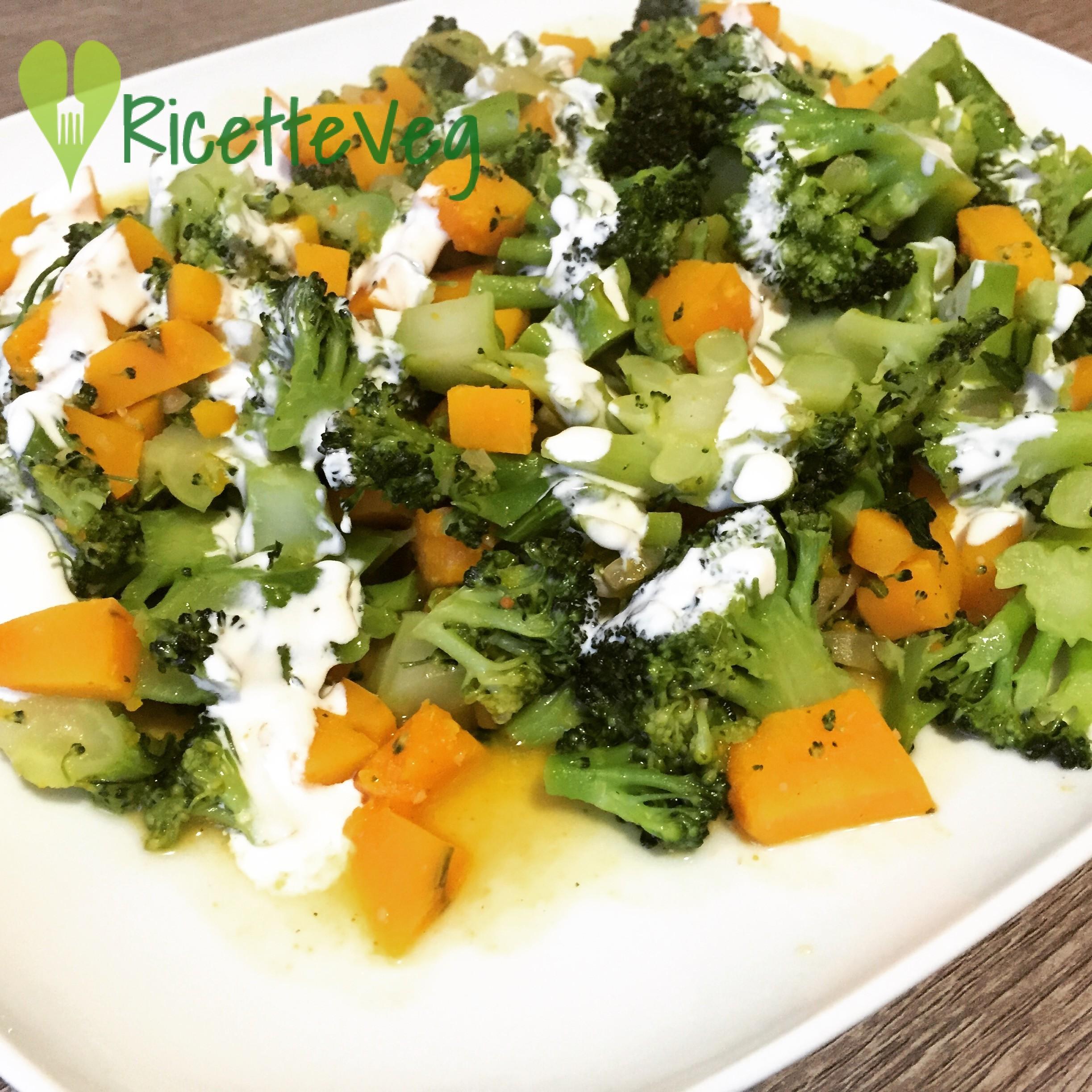 Zucca e Broccoli saltati - Contorno goloso