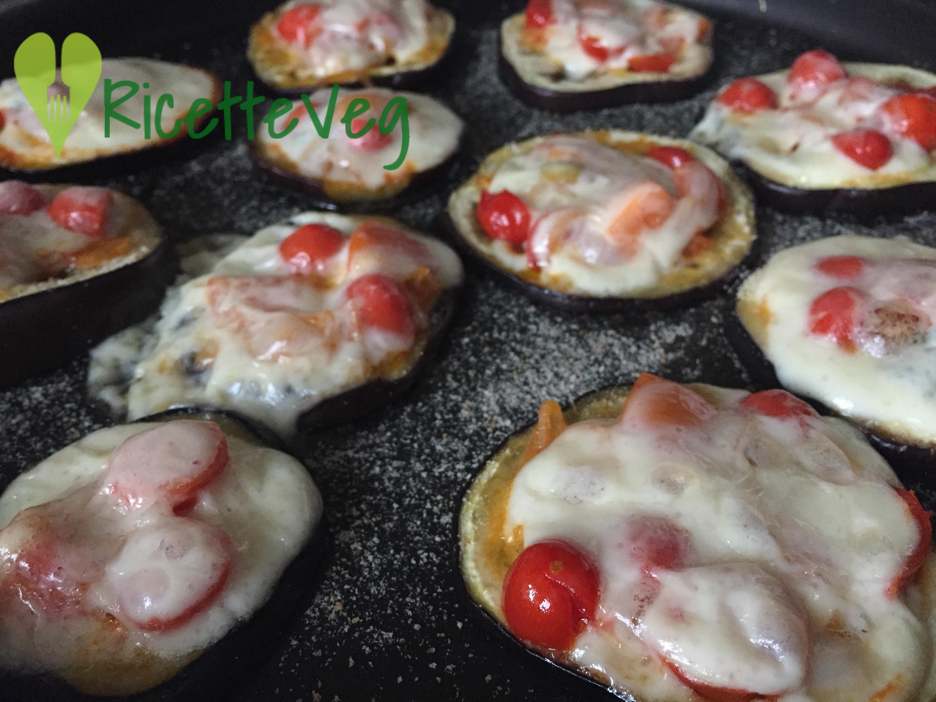 Pizzette di melanzane – Ricetta vegetariana